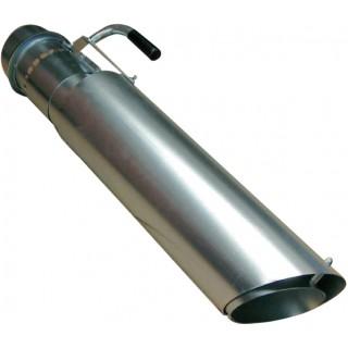 Bodensaugrüssel Ø150mm Flachlagerabsaugung